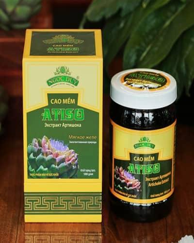 Cao Atiso cao cấp (hộp 1kg) - cao atisô Đà Lạt nguyên chất